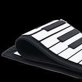 Multi 88 Teclas Flexibles De Silicona Roll Up Piano Plegable