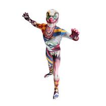 De Halloween Del Payaso Morphsuit - Monster Traje Niños M C