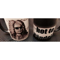 Taza Mágica Musical Too Hot To Händel , Regalo De Novedad
