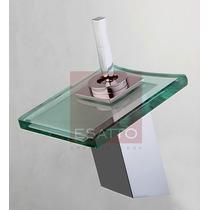 Esatto - Monomando Llave De Baño Cristal Cromo Excelente Vv4