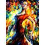 Flamenco Style, Pintura Al Óleo Maestro Leonid Afremov