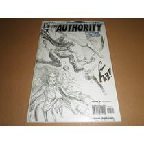 The Authority #1 Portada Variante Wildstorm Firmado