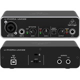 Interface Behringer  U-phoria Umc22 Envio Inmediato +