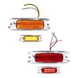 Plafon Led Plasma Laser Laterales Estrobo Camion Remolqu F1