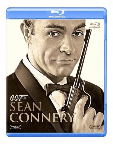 007 James Bond Sean Conery Bluray Actor Pack 6 Titulos
