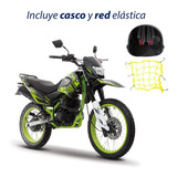 Moto Italika Dm150 Sport Negro Verde