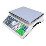 Báscula Comercial Digital Advance Base-30a 30 Kg 110v Plateado
