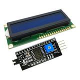 Display Lcd Pantalla 16x2  + Interfaz De Conversión I2c