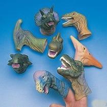 Realistas Deluxe Dinosaurio De Juguete Títeres De Dedo - One