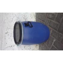 Tambo De Plastico Con Tapa Y Aro. Capasidad Para 50 Litros