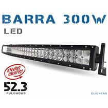 Barra Led Curva 300w 52.3 Pulgadas Todo Terrenos 4x4 Jeep
