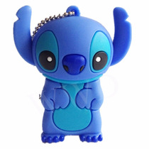 Memoria Usb Flash 64 Gb Lilo Stitch Moderno Novedoso