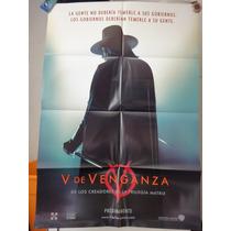 Poster V De Venganza Hugo Weaving Natalie Portman R Graves