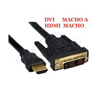 Cable Hdmi A Dvi 1.5 Metros Tv Laptop Computadora Monitor