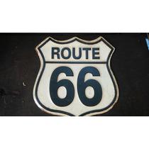 Ruta 66. Anuncio Troquelado