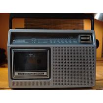 Radio Grabadora Panasonic Cassettes Antigua De Los 70s