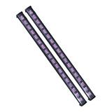 Barra Uv Led 18 Hyper Leds 5w Ultravioleta Luz Negra 2 Pz