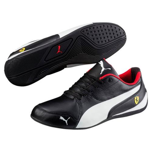 Tenis Ferrari Puma Drift Cat 7 Negro-blanco Caballero 2018. Precio    1849  Ver en MercadoLibre 02458b541c695