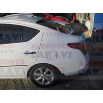 Nissan Versa Spoiler De Cajuela Muy Tuning Modelo Rt