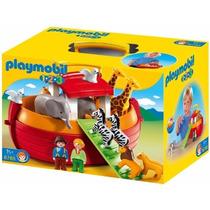 Playmobil 6765 Maletin 1.2.3 Arca De Noe Cuento Retromex