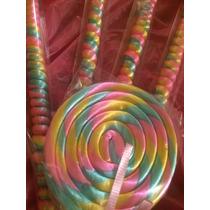 Paleta Y Espiral De Caramelo Macizo Colore Secolorespara Bab