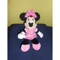 Peluche Minnie Mouse Original De Disney 26 Cms