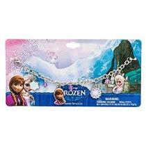 Disney Congelado Elsa Y Anna Pulsera Del Encanto-4 Encantos