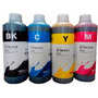 Un Litro De Tinta Cada Color Inktec Compatible Brother