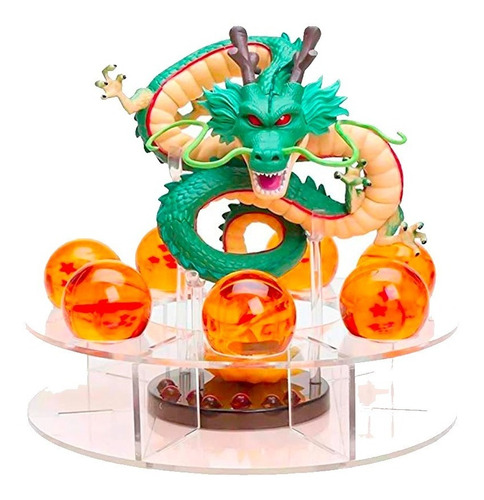Dragon Ball Set - Shen Long + Base + Esferas Del Dragón