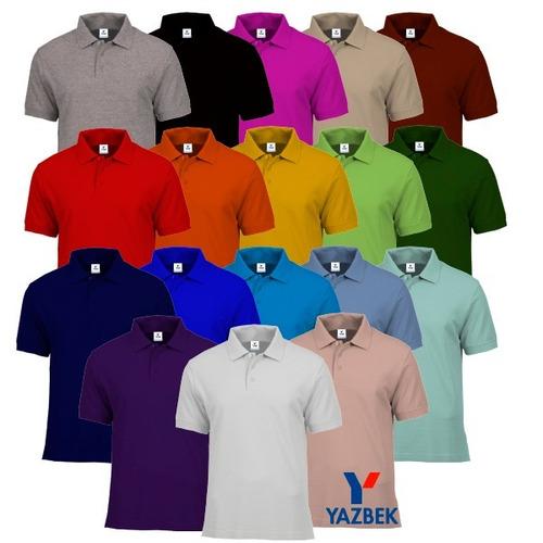 Playeras Polo Yazbek Dama Y Caballero-18 Colores Disponibles c32ad0b1e1f52