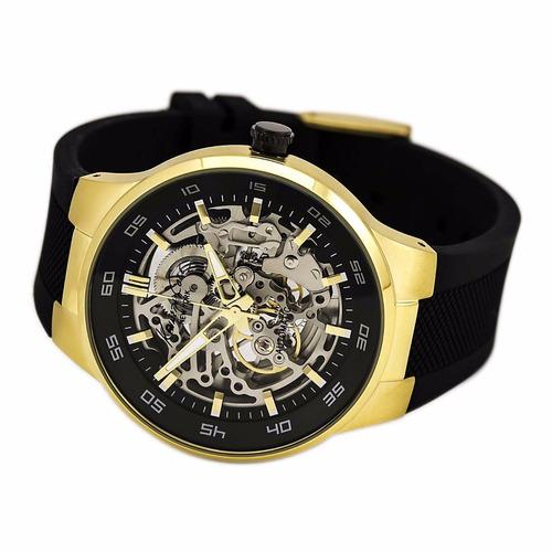 8c7e5046ed8f Reloj Kenneth Cole Kc8108 Hombre Dorado negro Skeleton en venta en Tijuana  Baja California por sólo   2940