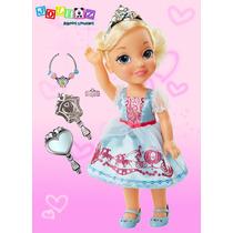 Cenicienta Muñeca Toddler Accesorios 35cm Disney Princesas