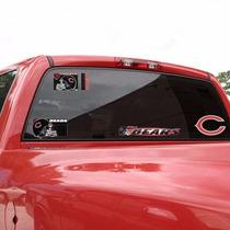 Chicago Bears - Calcomanias Ventana Auto