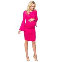 4550a3ae1 Vestido De Maternidad Embarazada De Tela 14 Marca My Bump en venta ...