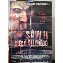 Poster El Juego Del Miedo 2 Saw 2 Donnie Wahlberg Beverley