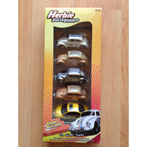 Set De 5 Herbie Vw Johnny Lightning , Beetle Set A