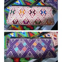 Carteras Billeteras Para Dama Bordadas Artesanía Chiapas
