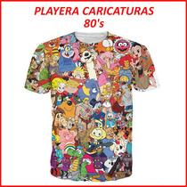 Playera Caricaturas 80s Thundercats Snorkels He-man Varios +