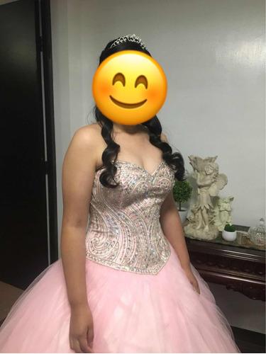 Vestido Xv Usado Rosa Pastel En Venta En Monterrey Nuevo