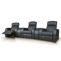 Sillon Cine En Casa Tres Asientos Teatro Sofa Reclinable Pm0