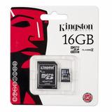 Memoria Micro Sd 16gb Kingston Sdc4/16gb Original Factura!