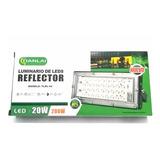 Reflector Led 20w Luminario Potente Iluminación Exteriores