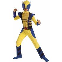 Disfraz Wolverine X Men Para Niño Avengers Superheroes