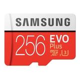 Tarjeta De Memoria Samsung Mb-mc256ga/eu Evo Plus Con Adaptador Sd 256gb