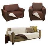 Couch Coat Funda Reversible Protector Para Sofa 3 Piezas