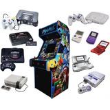 Mega Pack Juegos Arcade Y Consolas 45,000 Mame Neo Geo Pc