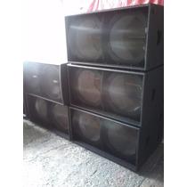 Bafles Tipo Martin Audio Ws218x Premium