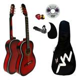 Guitarra Acústica Super Paquete Todo Incluido!! Envio Gratis