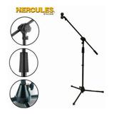 Soporte Base Stand Ajustable P/ Microfono, Hercules Ms432b