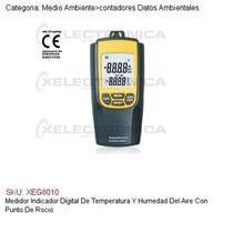 Medidor Digital De Temperatura/humedad De Aire/punto Rocio